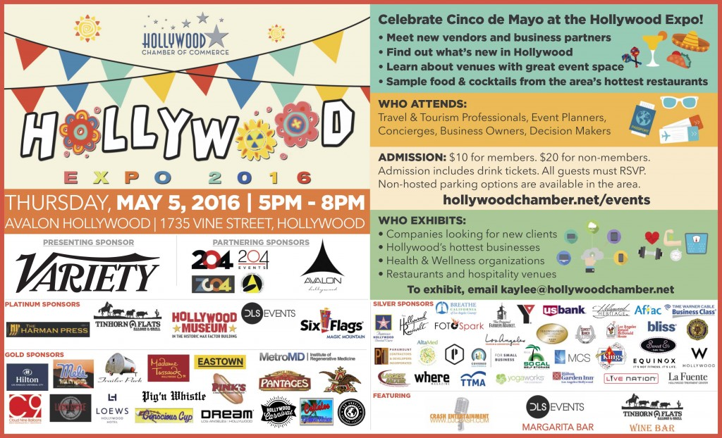 Hollywood Chamber Plans 28th Annual Hollywood Expo May 5th
