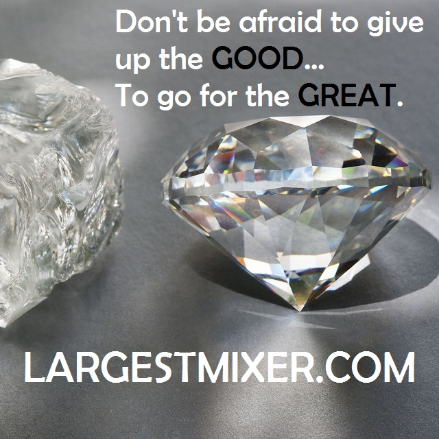 Networking Tip: Don't be afraid to give up the Good.. To go for the Great