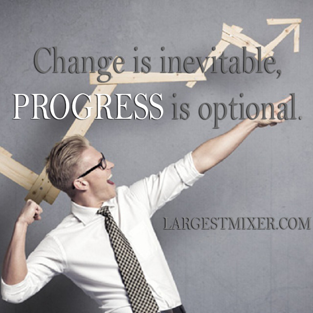Networking Tip: Change is inevitable, Progress is optional
