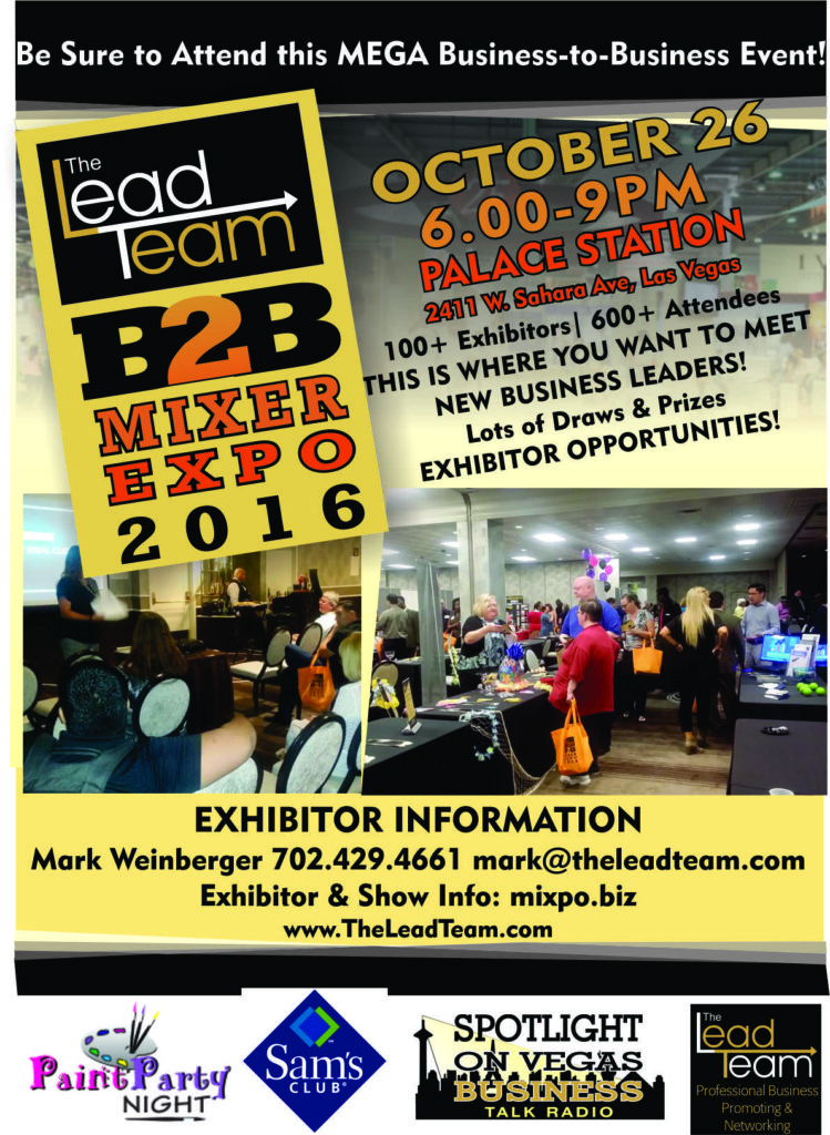 Lead Team Business Mixer Expo (MIXPO)