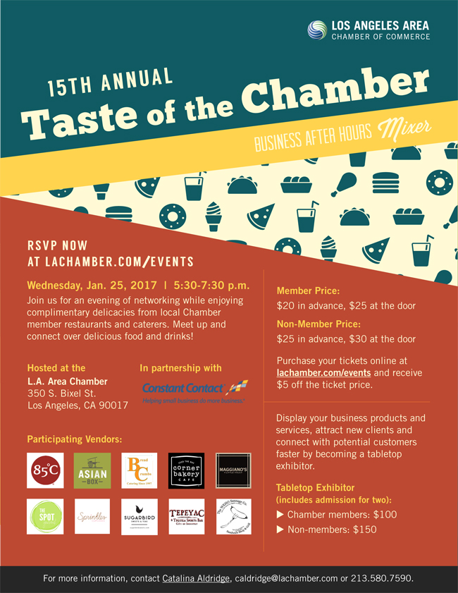 Los Angeles Chamber Taste of the Chambe