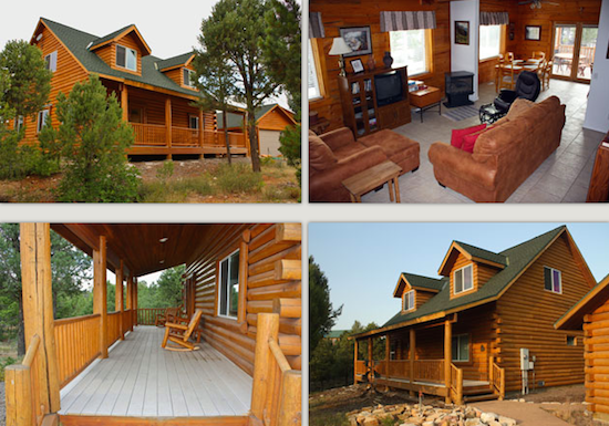 park o gustive cabin zion larson in national cabins