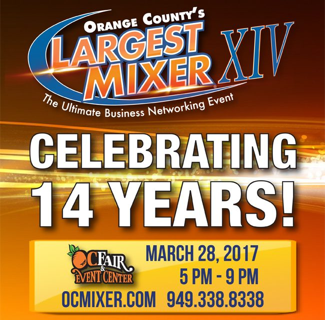 Orange County Mixer and Business Expo 2017 Networking Event at the OC Fair & Event Center March 28th