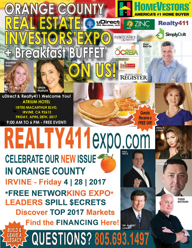 Realty411's Orange County and Los Angeles Expos