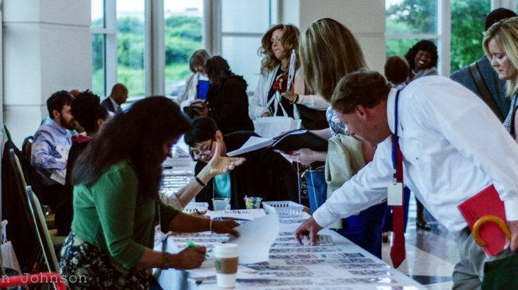 Networking Tip: Volunteer to work the registration desk