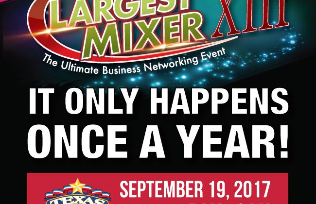 Las Vegas' Largest Mixer - Become an Exhibitor Today!