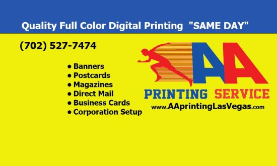 Aa printing service business mixers and events in los angeles aa printing service reheart Gallery