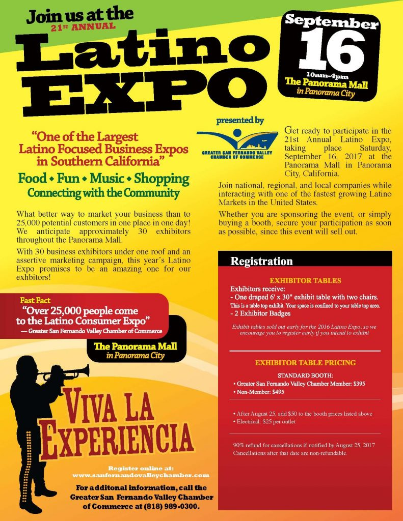 21st Annual Latino Expo - September 16, 2017