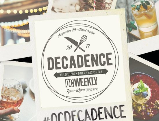 OC Weekly's 14th Annual Decadence Event - September 29, 2017