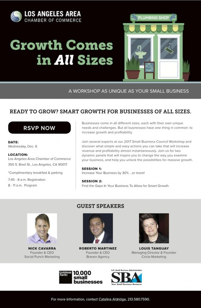 Small Business Council Workshop - December 06, 2017