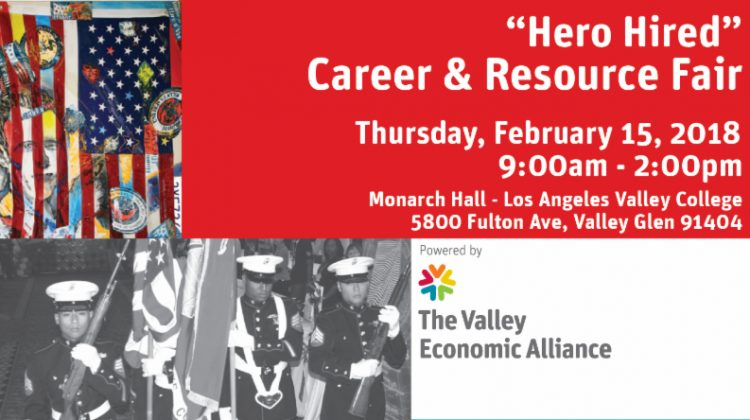 Hero Hired Career and Resource Fair - February 15, 2018