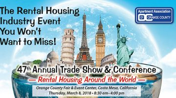 Rental Housing Around The World Trade Show - March 8, 2018