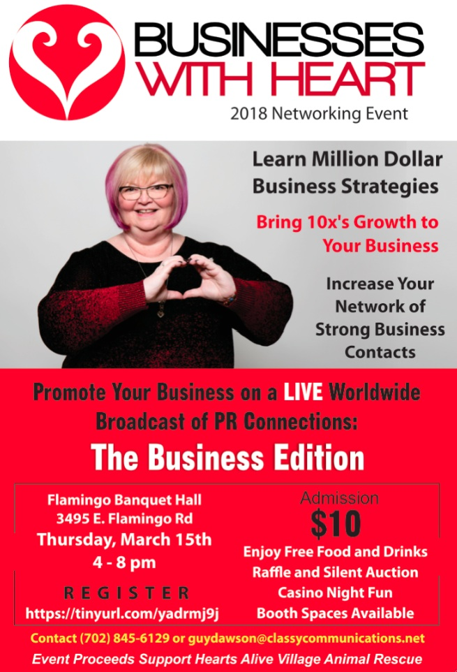 Businesses With Heart 2018 - March 15, 2018