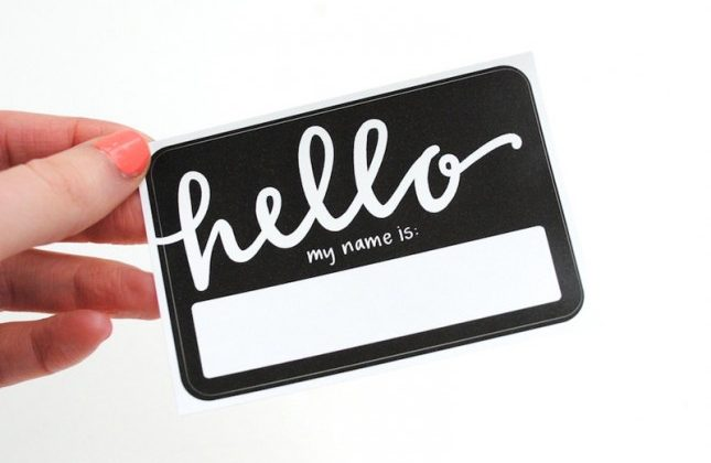 Networking Tip: Make Your Name Tag More Interesting