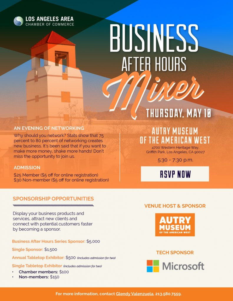 LA Area Chamber: Business After Hours - May 10, 2018