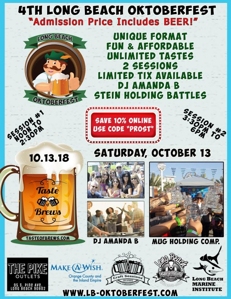 2018 Long Beach Oktoberfest - October 13, 2018