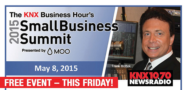 Knx 1070 newsradio 2015 small business summit business for Knx 1070