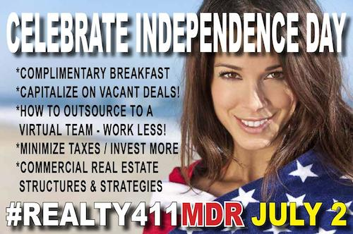 Independence Day Real Estate Event in Marina del Rey