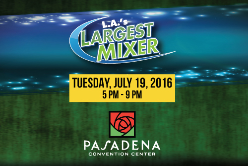 Los Angeles 18th Annual Mega Business Expo and Mixer July 19, 2016 at Pasadena Convention Center