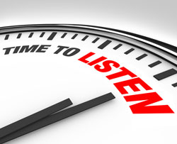 Remember to be an active listener. Everyone likes to know that their thoughts are being heard
