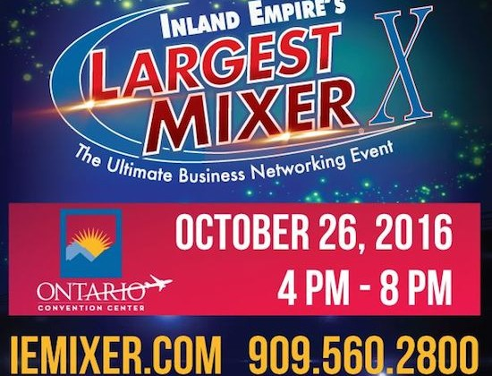 Inland Empire Chamber Business Expo Mixer Event Set October 26, 2016
