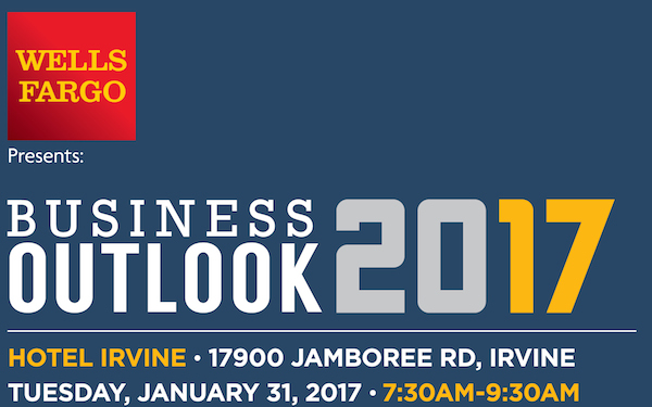Irvine Chamber of Commerce Business Outlook 2017