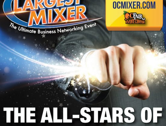 Orange County Business Expo Mixer with Small Business Owners