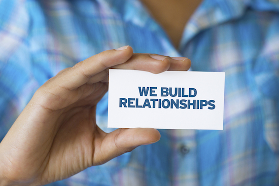 Networking Tip: Build a relationship with other individuals instead of trying to sell them right away.