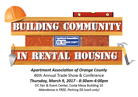 Apartment Association of Orange County's 46th Annual Trade Show & Conference
