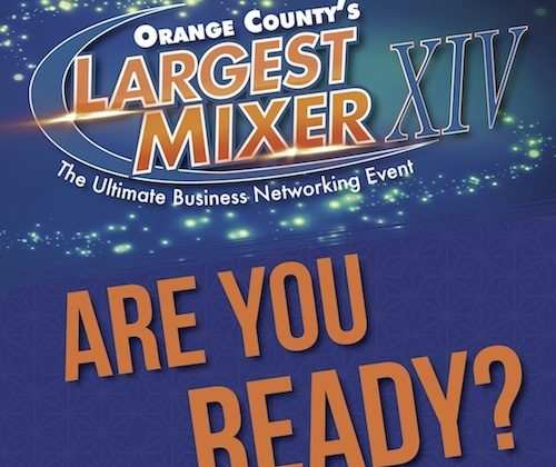 Orange County Restaurants and Caterers Network at the Largest Mixer