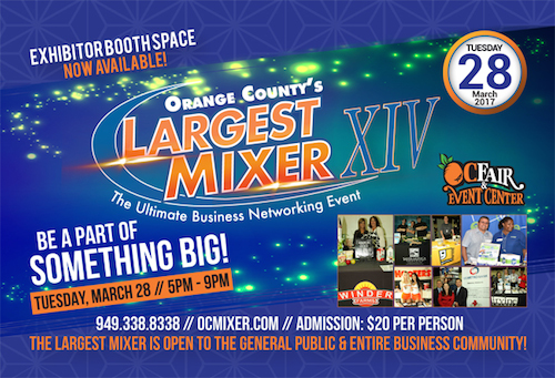 Orange County Business Event Networking Mixer March 28