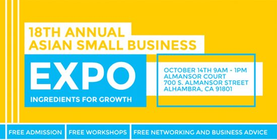 Free Asian Business Expo - October 14th