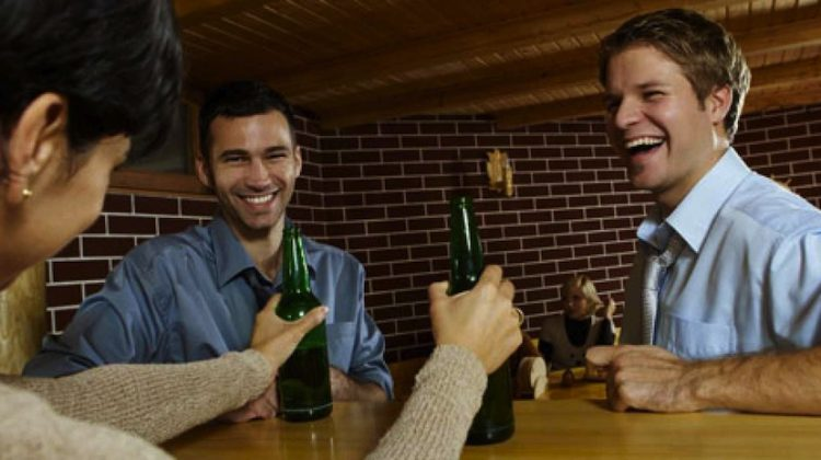 Networking Tip: Go To The Bar